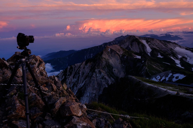 山岳写真の撮影