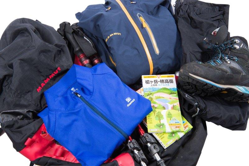 登山初心者が揃えるべき登山用品