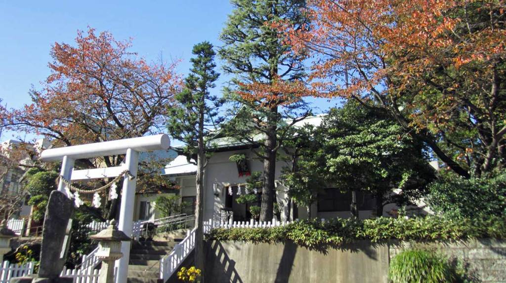 神道大教の秋風景