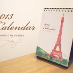 2013卓上カレンダー出来ました!!