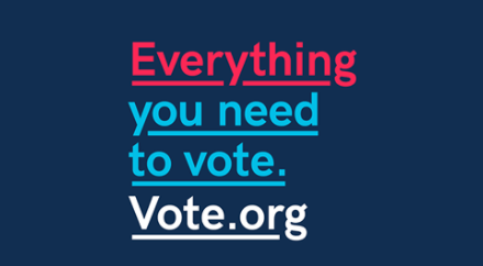 Vote.org: Everything you need to vote
