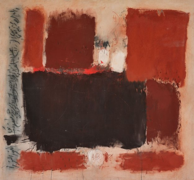 Yamou, Hommage à Rothko. 1994