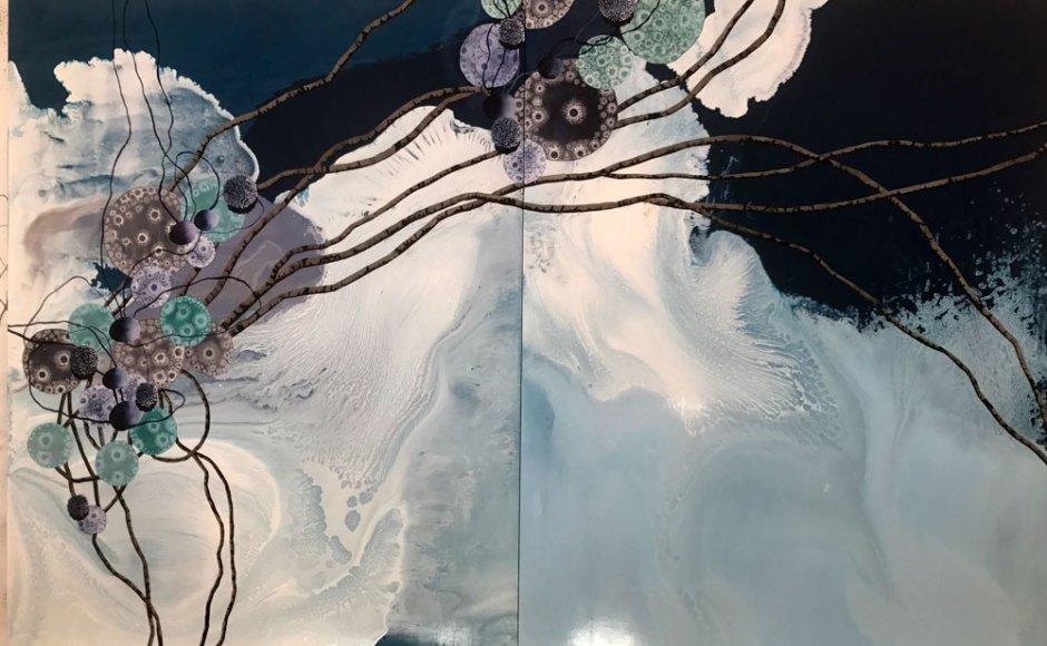 Yamou, Double ciel. 2017