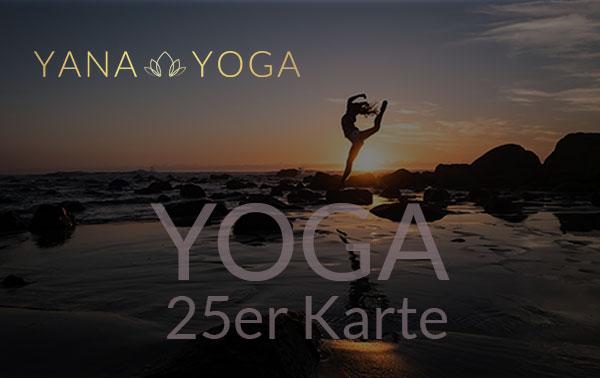 Yana Yoga Loft Limburg 25er Karte Yoga