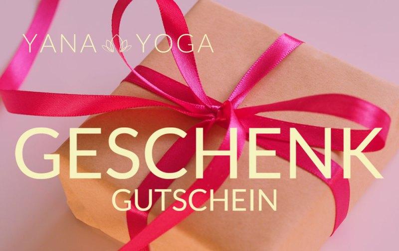 Yana Yoga Geschenkkarte