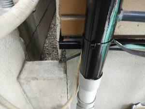樋及び付帯部の塗装