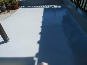 ウレタン塗膜防水保護仕上げ