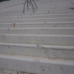 折板屋根の施工前