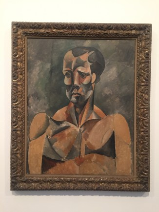 """Pablo Picasso, """"Bust of a Man"""", 1909"""