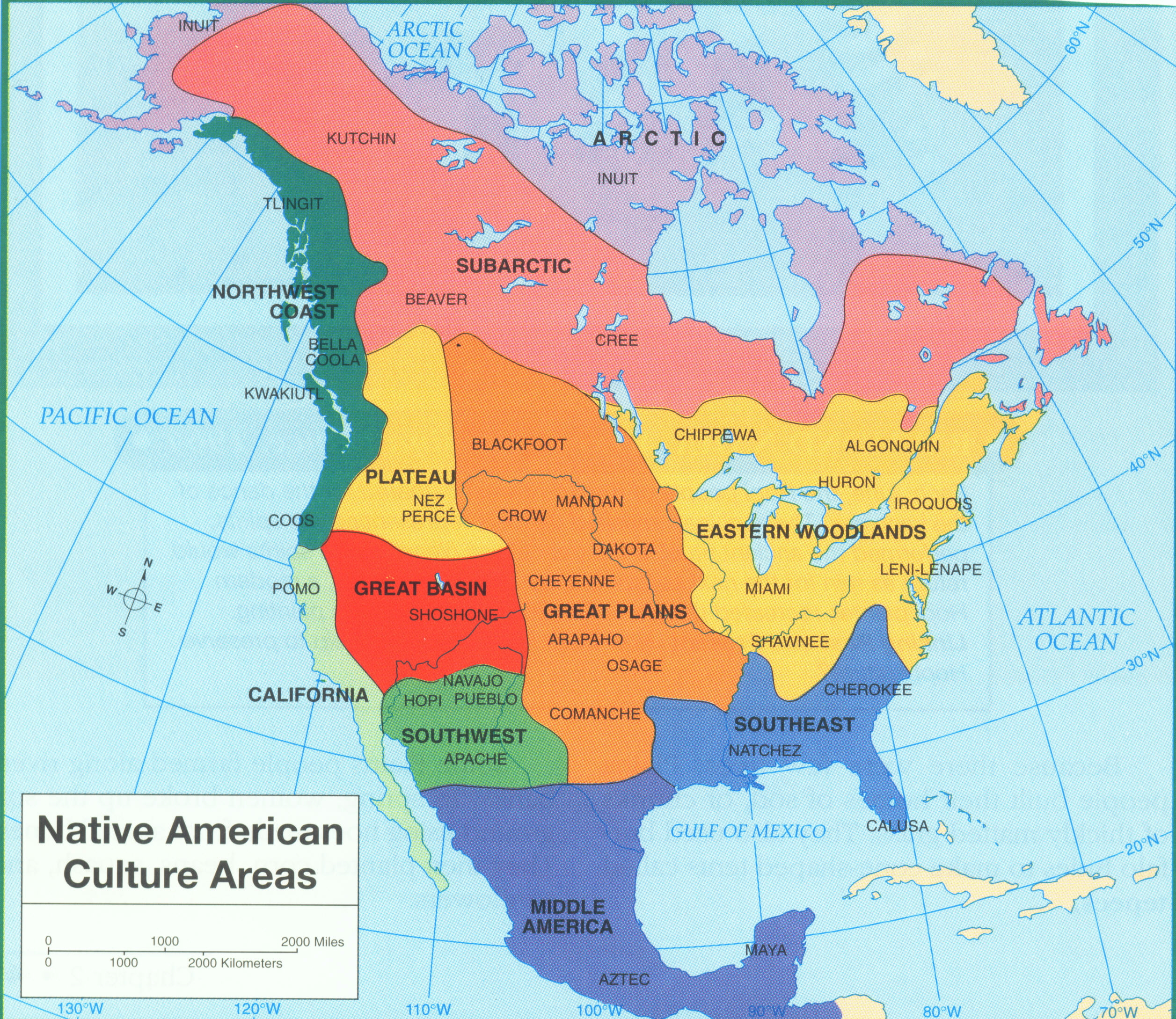 Maps Of Native America Ya Native Blog