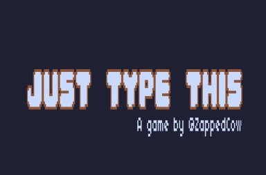 just-type-this