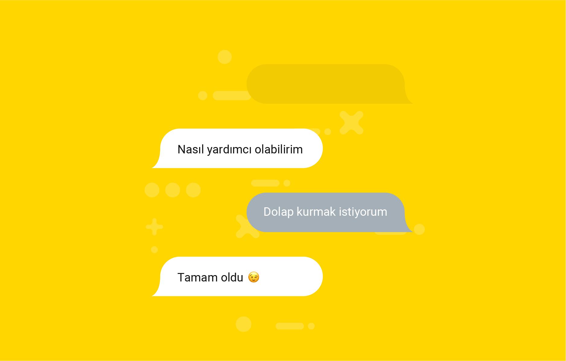Chat ekran görüntüsü Yandestek