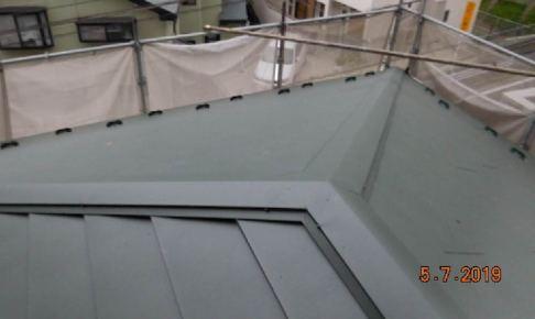 横浜市の屋根カバー工法
