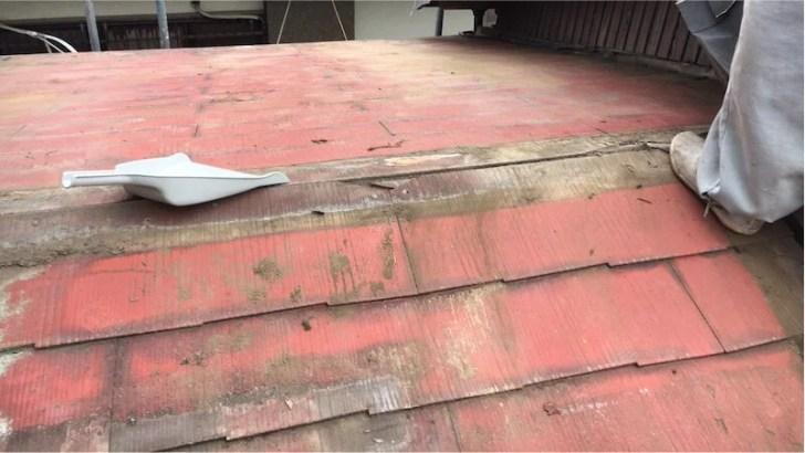 屋根板金の撤去・解体