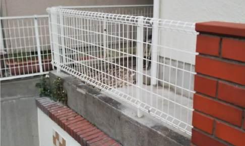 船橋市のフェンスの設置工事