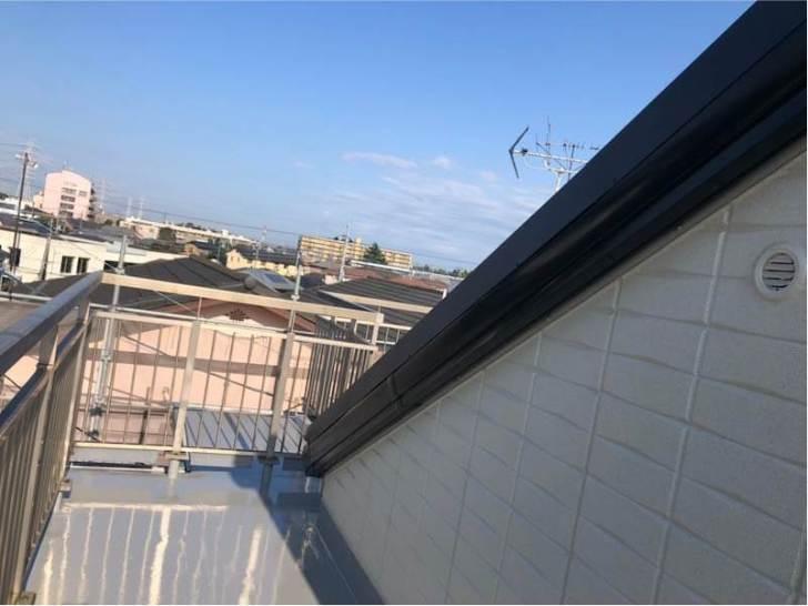 野田市の屋根リフォームの施工後の様子
