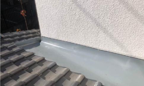 習志野市の屋根の葺き直し工事