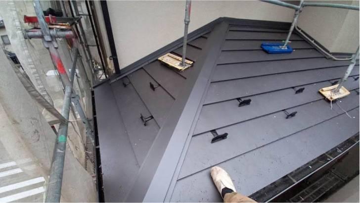 流山市の屋根リフォームの施工後の様子