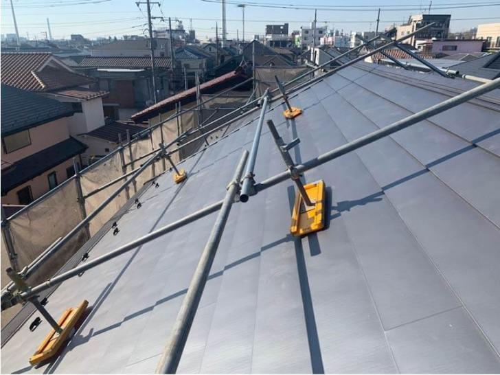 杉並区の屋根リフォームの施工後の様子
