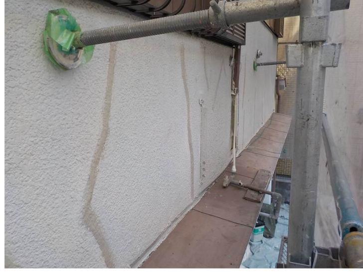 豊島区の外壁塗装のクラックの補修