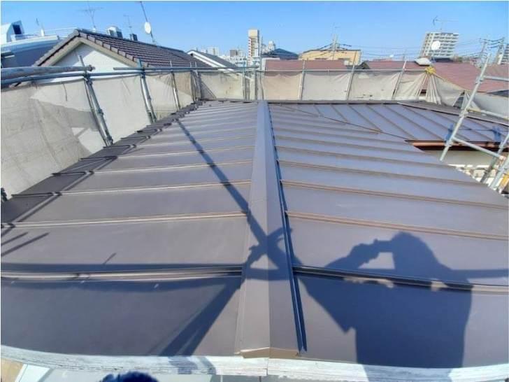 新座市の屋根葺き替え工事の施工後の様子