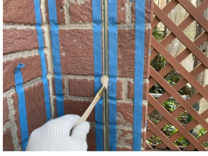 船橋市の屋根・外壁塗装のコーキング