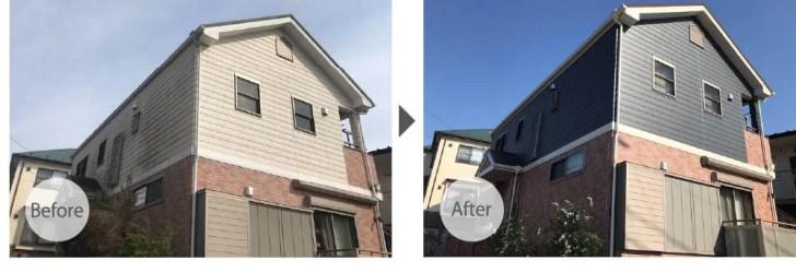 船橋市の屋根・外壁塗装のビフォーアフター