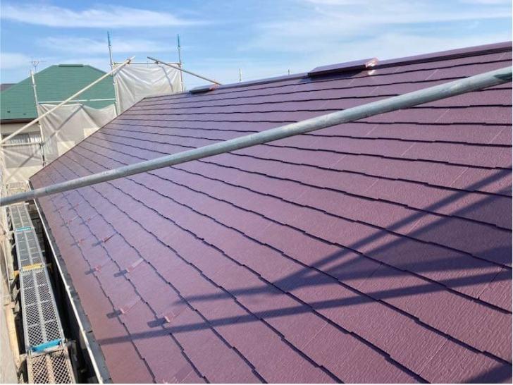 船橋市の屋根・外壁塗装の施工後の様子
