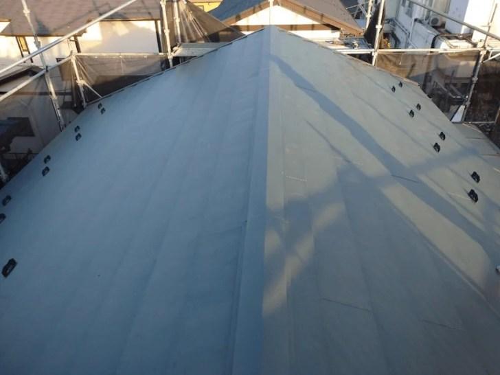 相模原市の屋根リフォームの施工後の様子