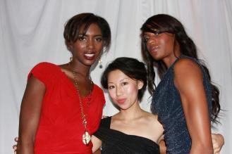 YAN FONG in fffashion fashion show Hollywood Red Carpet