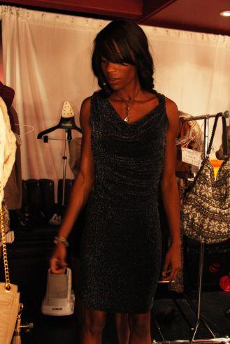 YANE MODE winner knit dress of fffashion Hollywood LA 10