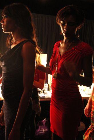 YANE MODE winner knit dress of fffashion Hollywood LA 25