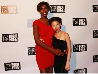 YANE MODE winner knit dress of fffashion Hollywood LA