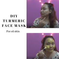 Anti-acne Turmeric Face Mask For Oily Skin