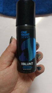 BBlunt One Night Stand Temporary Hair Colour Blue Velvet
