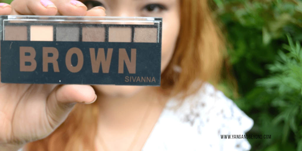 Sivanna brown eyeshadow palette review