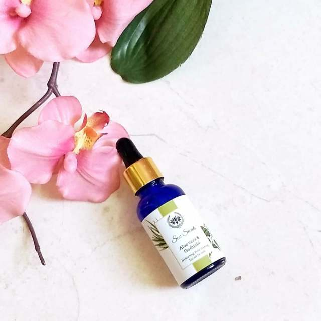 Seer Secrets Aloe Vera & Guduchi Hydrating & Retexturing Facial Serum Review