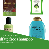 Sulfate free shampoos available in India: Best & affordable