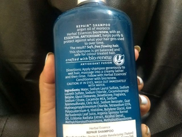 Herbal essences bio renew shampoo