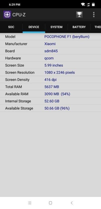 Pocophone F1 CPU Z (2)