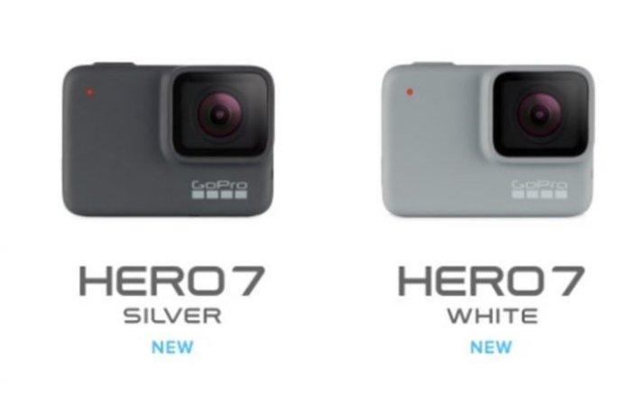 GoPro HERO7 Silver dan HERO7 White: Desain Lebih Minimalis, Tetap Tahan Air Hingga 10 Meter 1