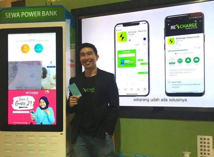 ReCharge Luncurkan Layanan Sewa Power Bank Berbasis Aplikasi 2