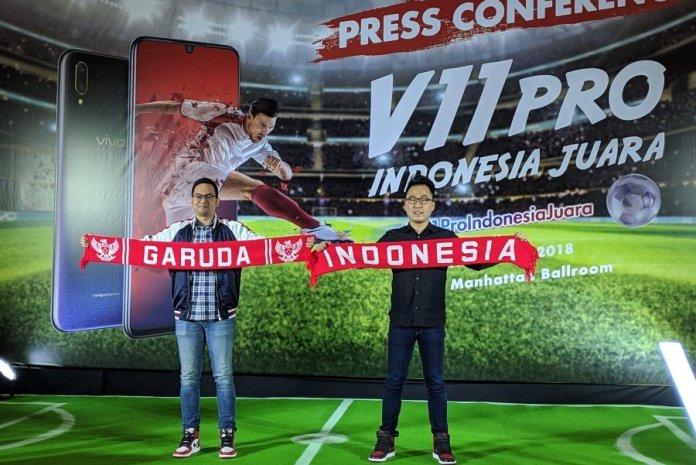 Sambut AFF Suzuki Cup 2018, Vivo Gelar Kampanye 'V11 Pro Indonesia Juara' 1