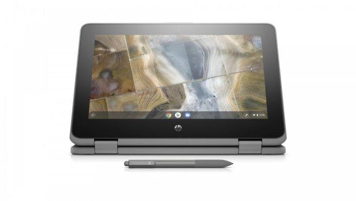HP Chromebook x360 11 G2 EE: Andalkan Bodi Tangguh dan Dukungan Wacom Stylus 1