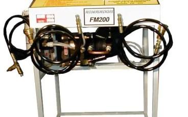 FM200 Gazı Dolumu