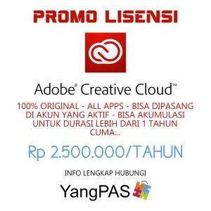 Lisensi Adobe CC