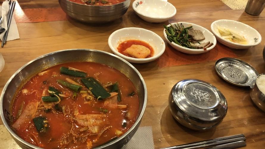 【韓国・市庁】おすすめ!イファス伝統ユッケジャン(이화수 정통육개장)
