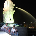 Merlion Statue at Marina Bay