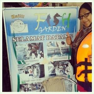 Anniversary ke3, Honeymoon Pulau Langkawi, Kedah Day 2- Island Hopping ( Fish Garden )