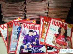 YanieYusuf dalam Majalah Mingguan Wanita